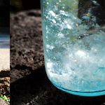 聖域の岬から汲み出された100年腐らない水。聖域の水。