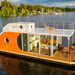 ドイツで見つけた新感覚コテージ!ハウスボートとは?